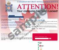 Canadian Security Intelligence Service Virus