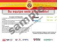 La policia ESPAÑOLA virus