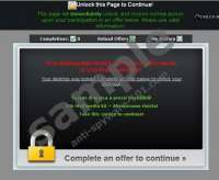 Complete an Offer to Continue Virus