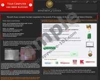 United States Department of Justice Virus