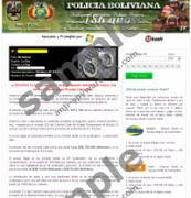 Policia Boliviana Virus