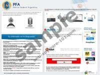 Policía Federal Argentina - PFA Virus
