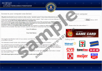 FBI Ultimate Game Card Virus