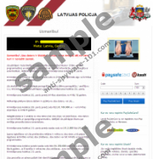 Latvijas Valsts Policija Virus