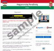 Magyarország Rendőrség Police Virus