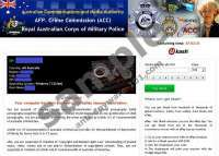 AFP Crime Commission virus