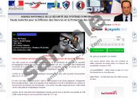 Agence nationale de la sécurité des systèmes d'information virus