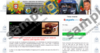 Polícia Judiciária de Portugal Virus