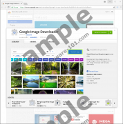 Google Image Downloader Chrome Extension