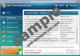 Win 7 Home Security 2012