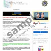 Ireland's National Police Service Virus