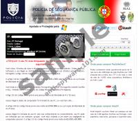 Polícia De Segurança Pública Virus