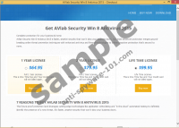 AVLab Internet Security Win8 Antivirus 2015