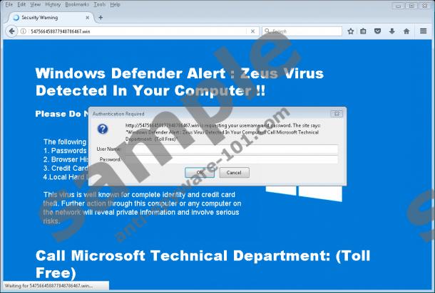 windows zeus virus
