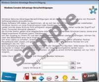 Windows Genuine Advantage Trojan ransomware