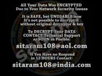 Sitaram108 Ransomware
