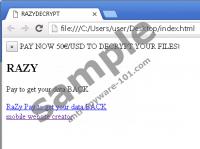 Razy 5.0 Ransomware