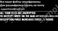 Supportfriend@india.com Ransomware