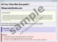 Wisperado@india.com Ransomware