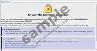SyndicateXXX@aol.com Ransomware